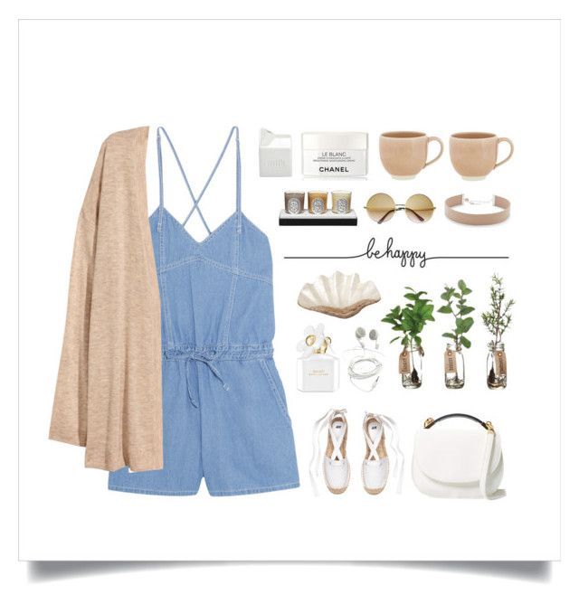 """Retro Vibe"" by thedailywear ❤ liked on Polyvore featuring Steve J & Yoni P, Cynthia Rowley, Pearl Dragon, Marc Jacobs, ZeroUV, Diptyque, Jennifer Zeuner, Chanel, atelier tete and BIA Cordon Bleu"