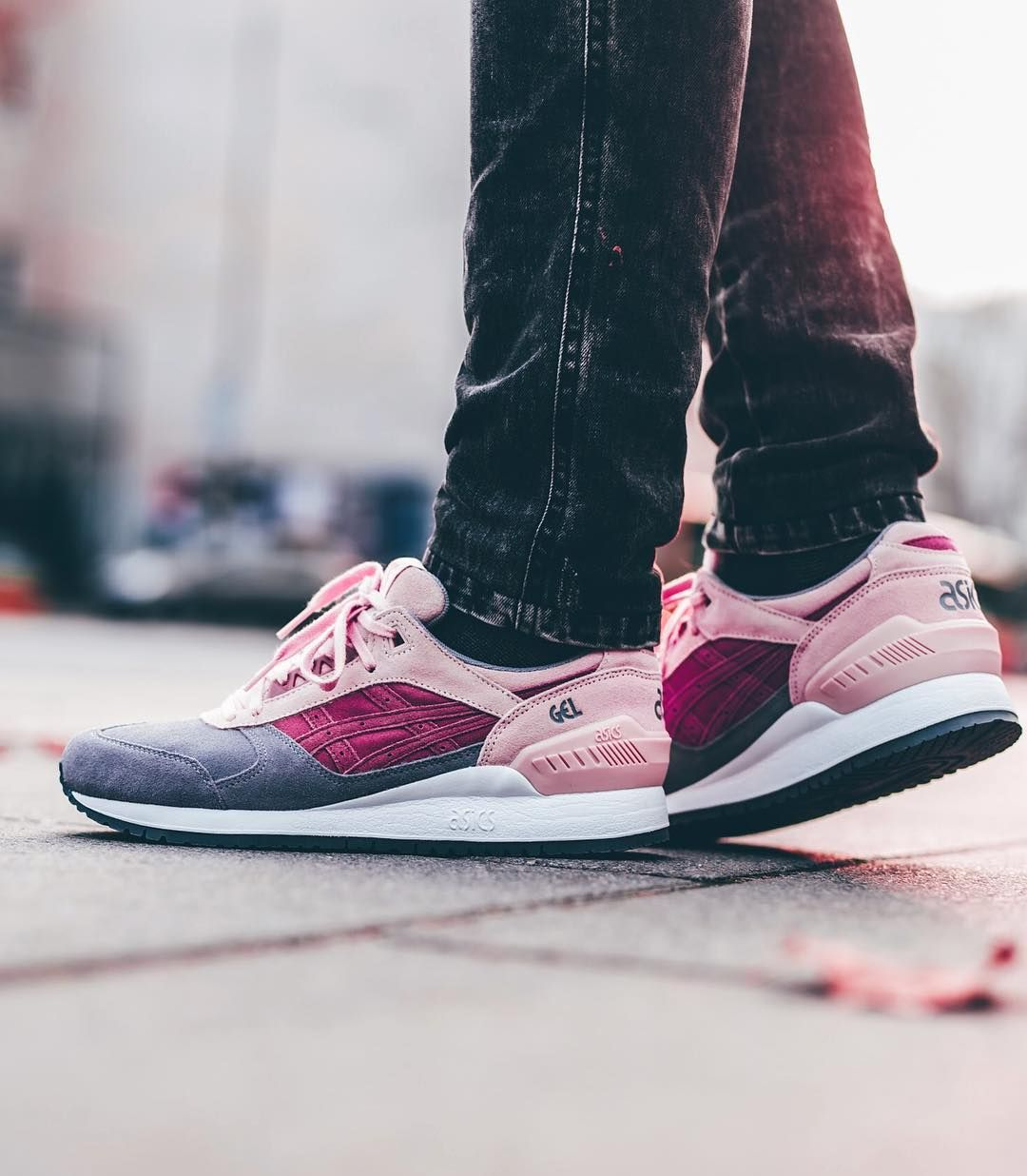 9699b4f0cf5c Asics Gel-Respector Mauve Wood avaliable in store and online at  www.streetsupply.
