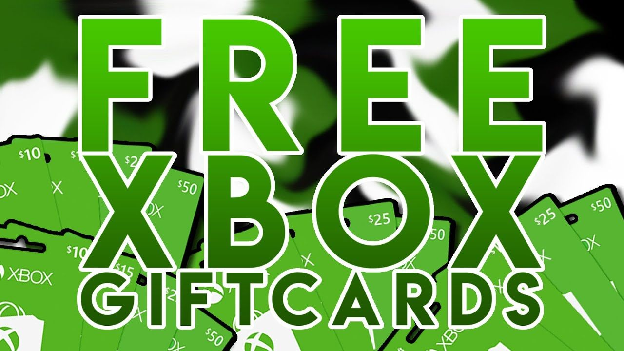 Free xbox codes how to get free xbox live gold gift card