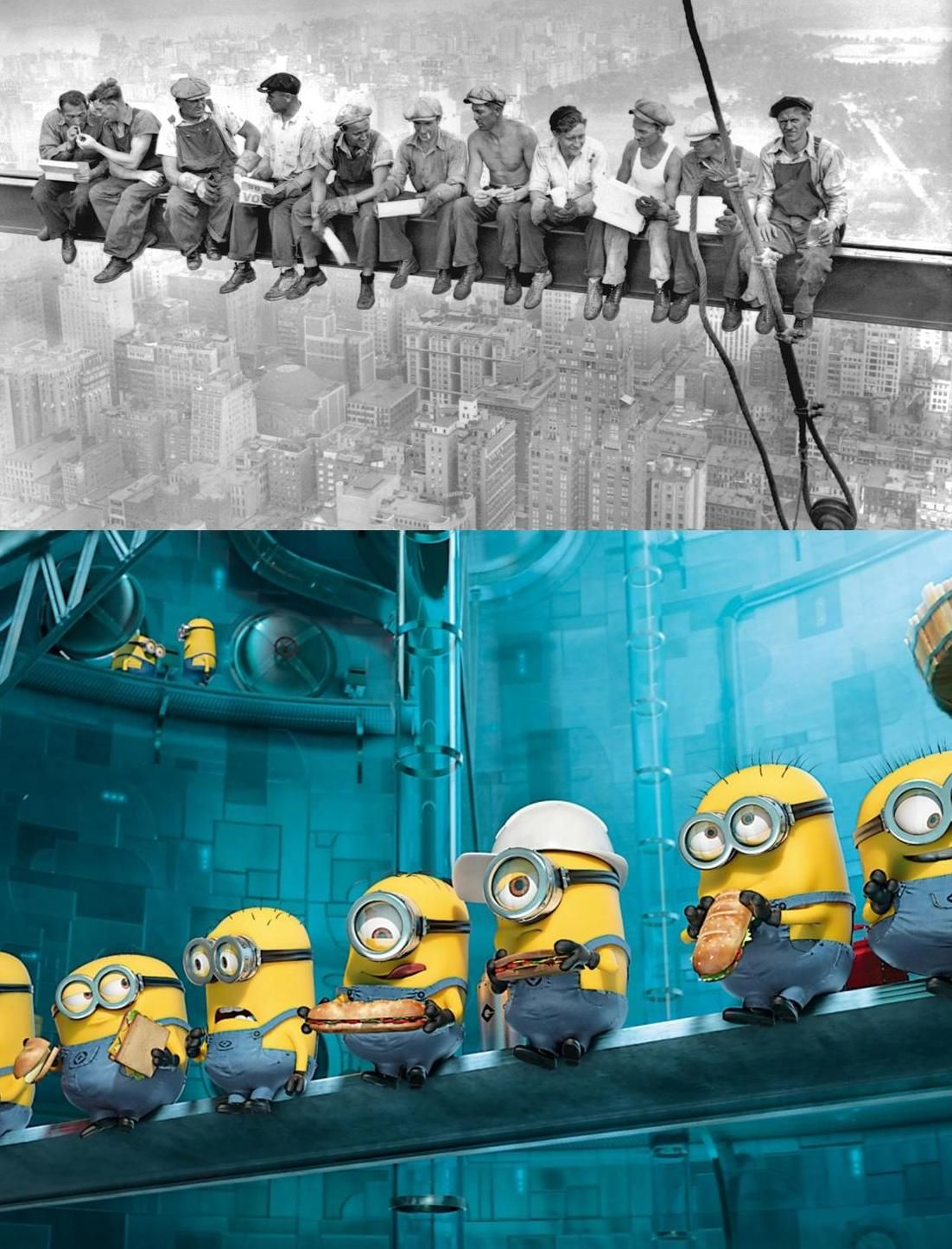 Does time change anything? Workplace safety, Minions