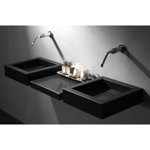 giquadro quadro basin 45 wastafel zwart graniet qb 45 0 b rh pinterest com study room decorating ideas study room decorating ideas