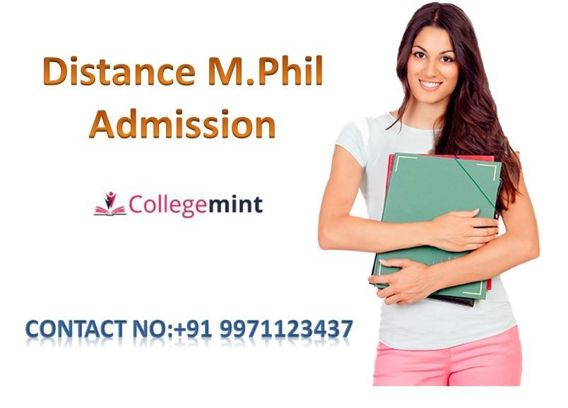 Distance M Phil Admission Top Universities For Distance M Phil