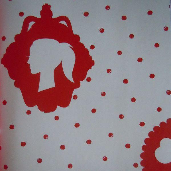 Onszelf Kids Wallpaper - Red Beauty by Onszelf | JUST KIDS WALLPAPER™
