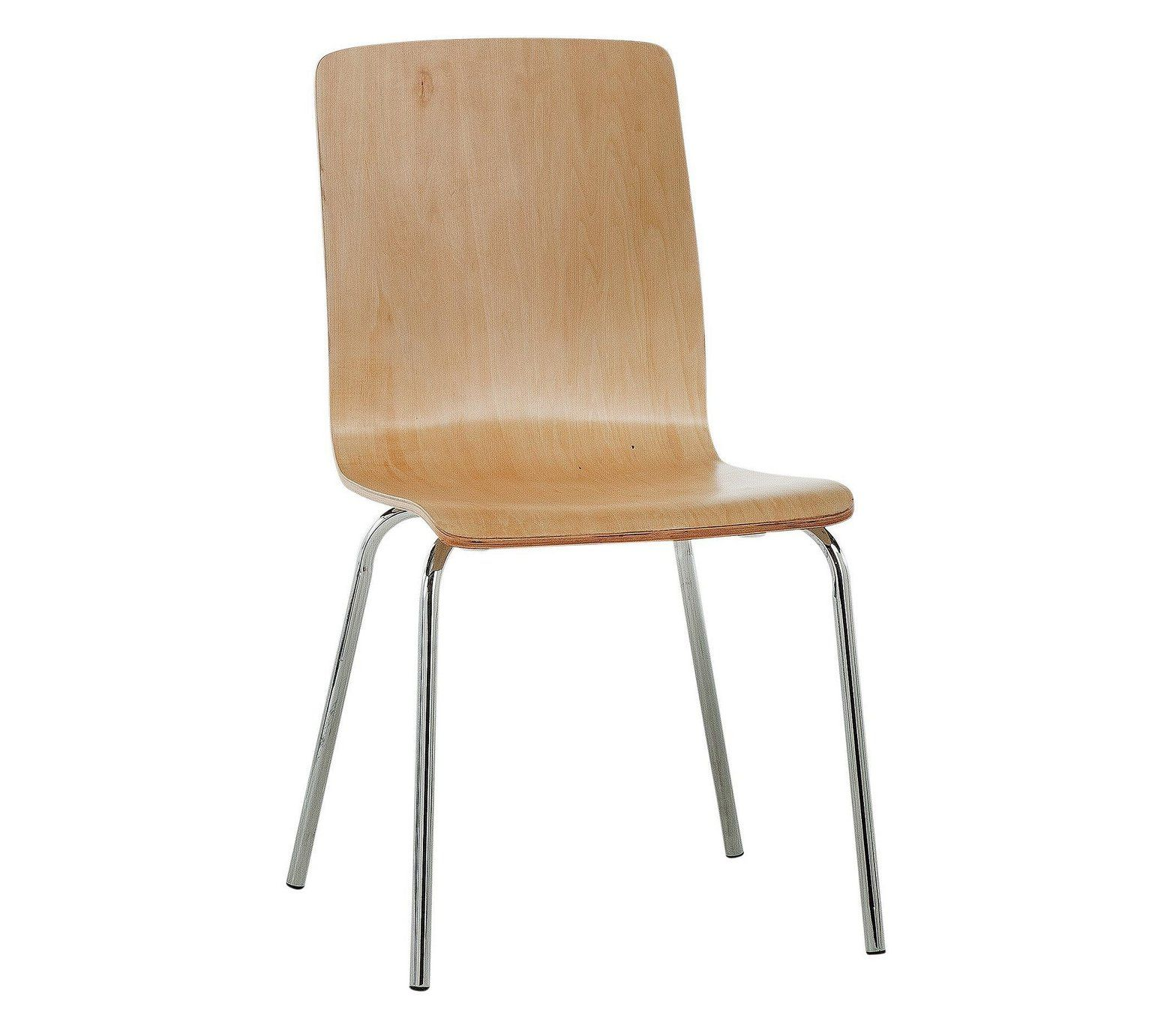 Buy Simple Value Bentwood Dining Chair Natural at Argos