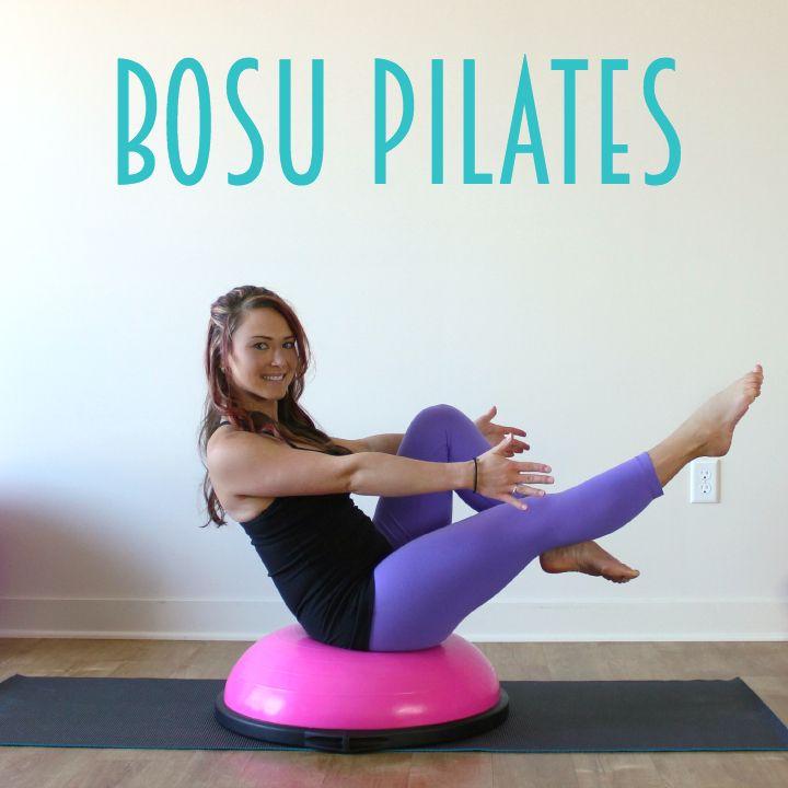 BOSU Pilates Workout • Pilates Exercises With The BOSU
