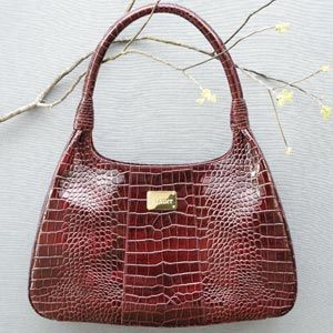 Stauer Sangria Leather Satchel Purses And Bags