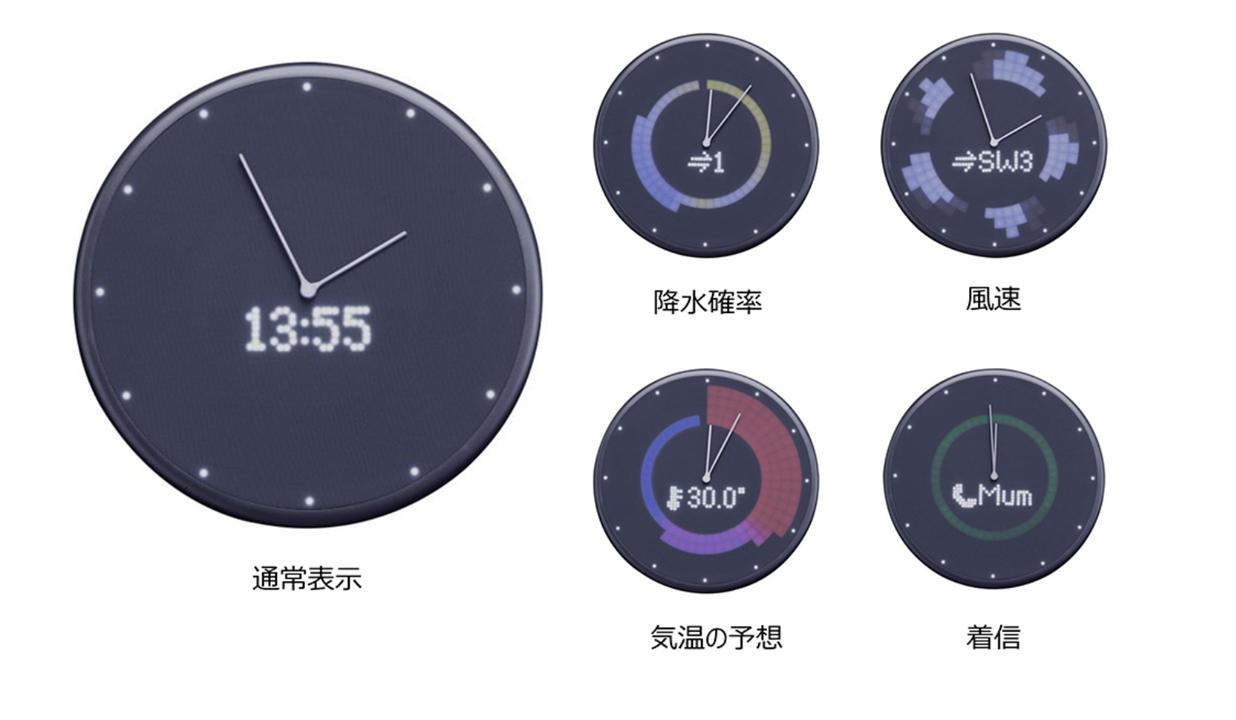スケジュールや天気も確認できるIoT壁かけ置き時計Glance ClockAmazonで10%オフセールを開催中