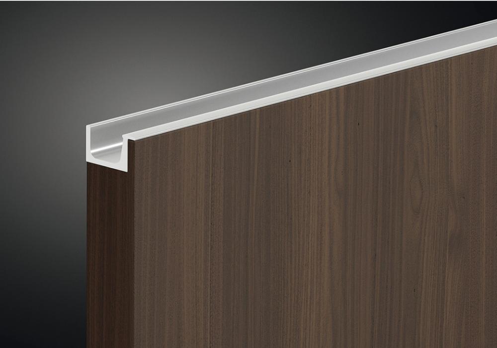 Profile Handle, Anodised Aluminium, Length 2500 mm