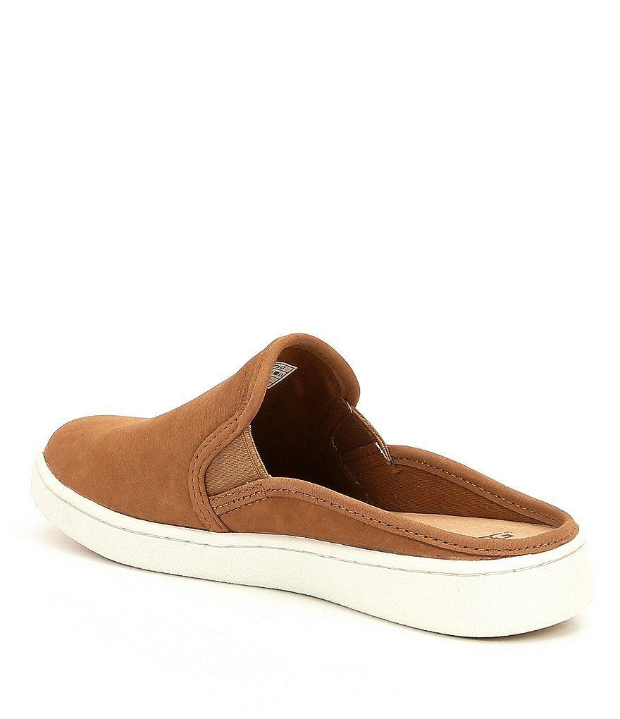 UGG? Gene Nubuck Slide Sneakers#Gene
