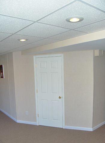 lighting in dropped ceiling basement pinterest lighting lighting ideas and pot lights. Black Bedroom Furniture Sets. Home Design Ideas