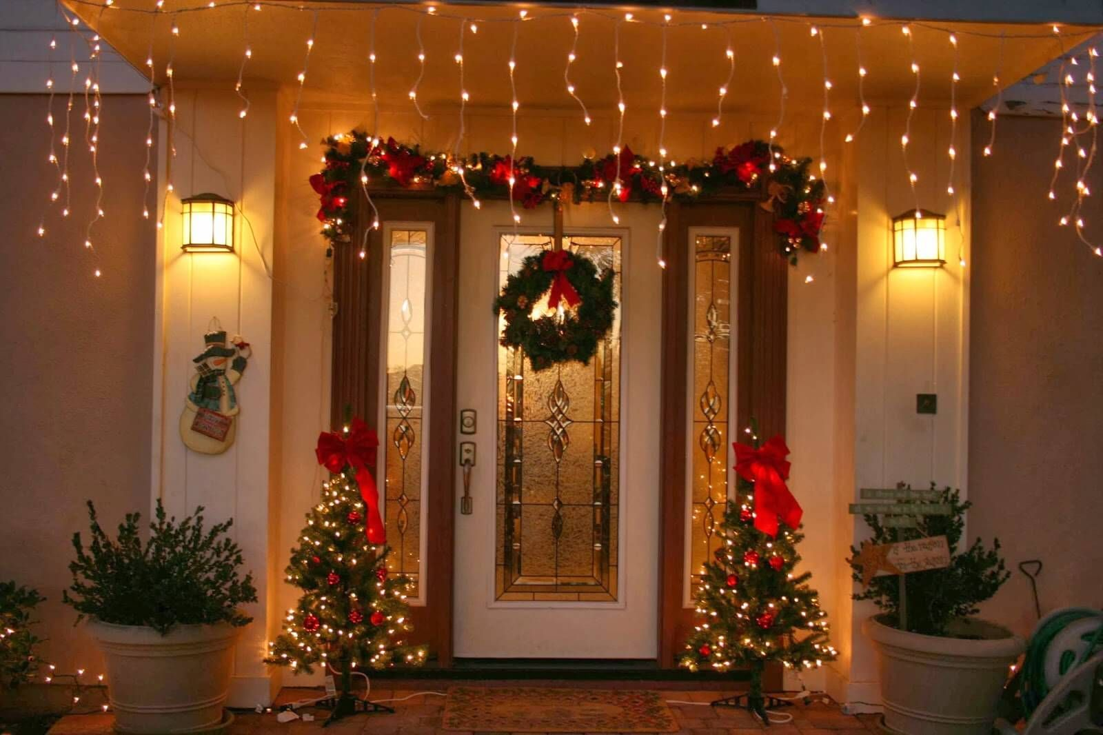 5 ideas para decorar la casa en navidad navidad for Ideas para adornar puertas en navidad