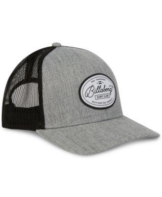 Billabong Men s Walled Trucker Hat - Gray  b1b819635e4
