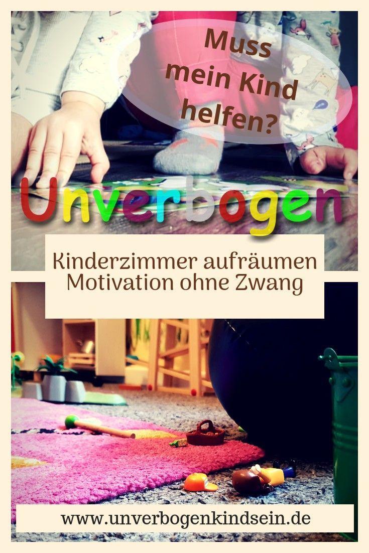 Kinderzimmer aufräumen Muss mein Kind helfen