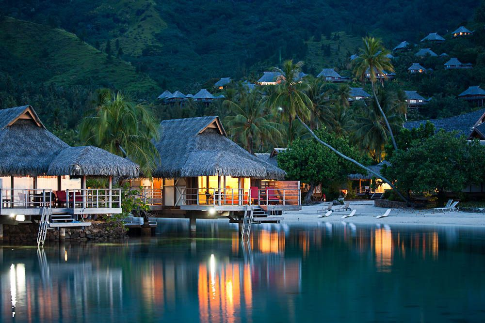 Intercontinental Moorea Resort And Spa Overwater Bungalows