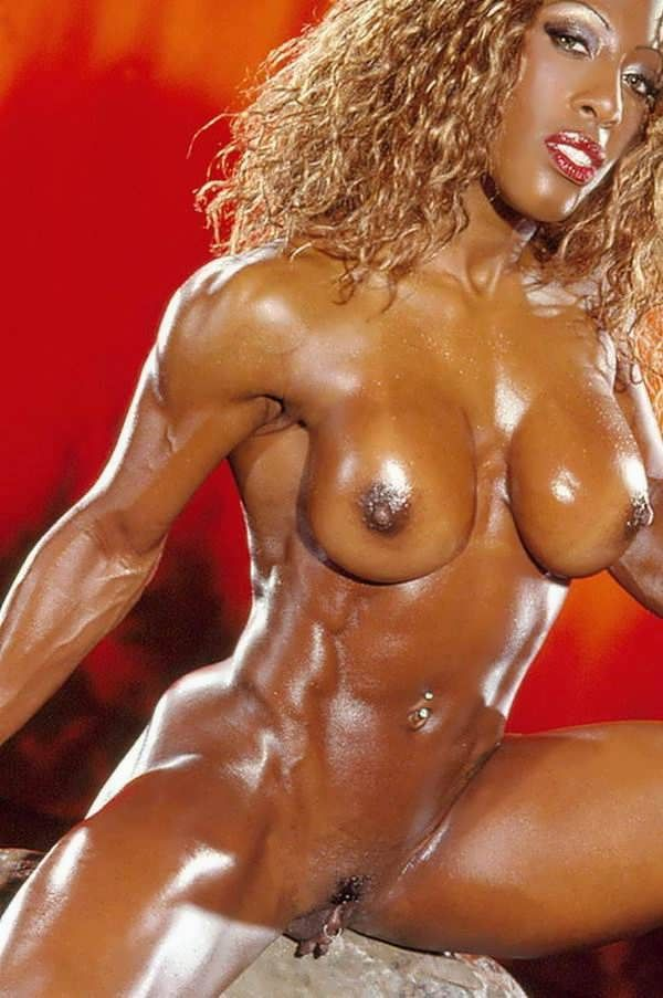 Muscle women big clitoris