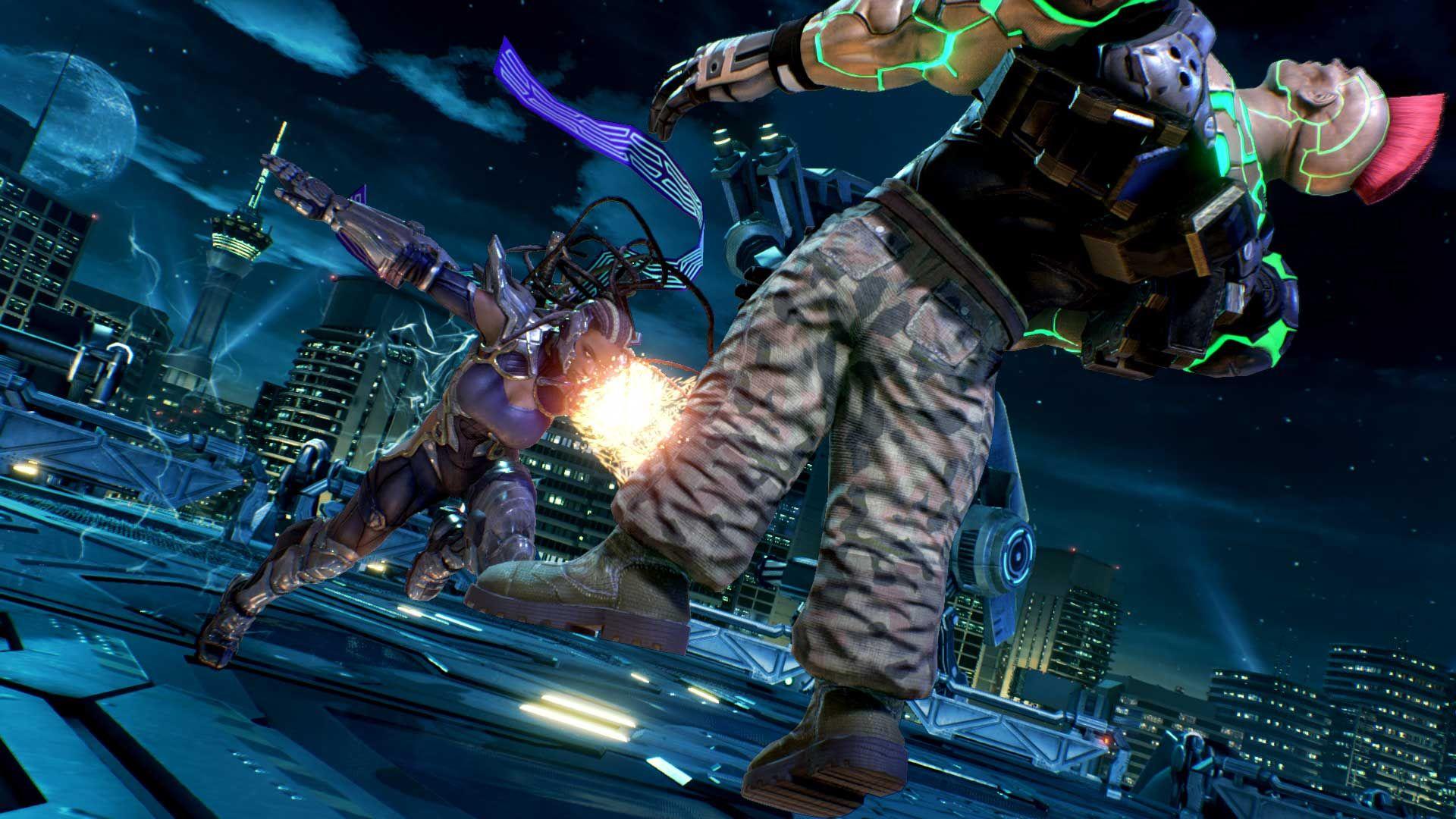 Tekken 7 Presentation De Deux Combattants Jeux De Combat Combattant Cinematique