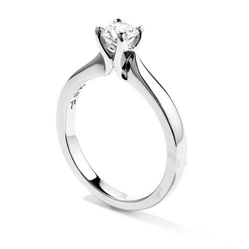 Hearts On Fire Purely Bridal Diamond Solitaire Ring 2340 Heart