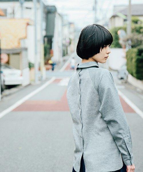 NON TOKYO(ノントーキョー)の2015秋冬商品 CHIMNEY SHIRTS(Tシャツ/カットソー) グレー