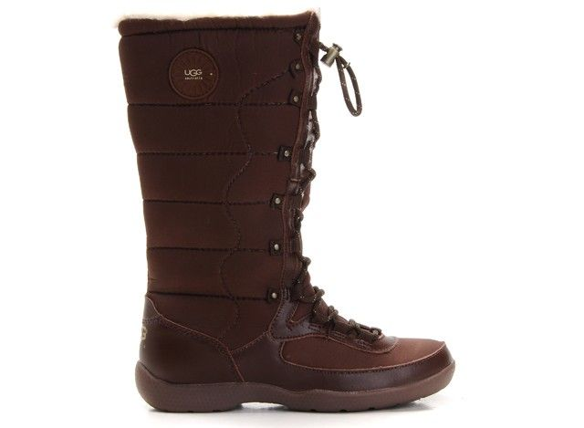 UGG Dauphine Boots 5741 in Sienna keep your feet dry and comfort in the  coldest conditions