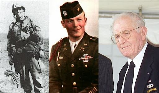 """Major Richard """"Dick"""" Winters. Commander of Easy Company, 2nd Battalion, 506th Parachute Infantry Regiment, 101st Airborne Division."""