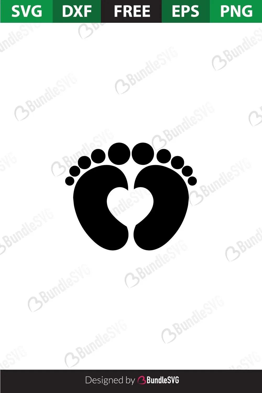 Baby Feet Svg Free : Files