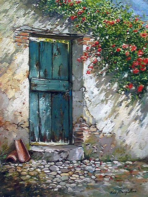 Francesco Mangialardi Pinturas Hermosas Arte En Lienzo Pintura Al Oleo Paisajes