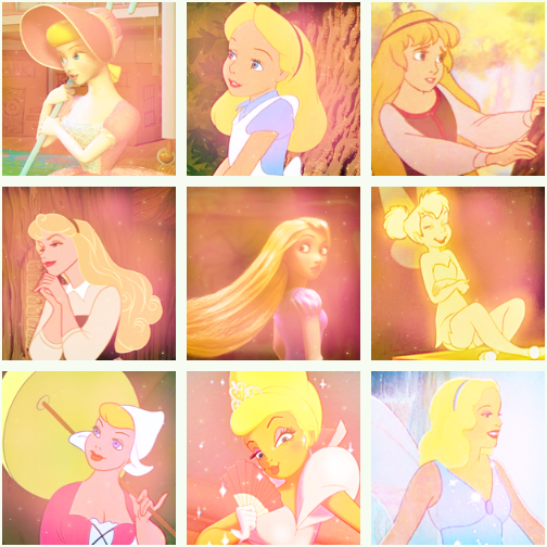 Childhood Animated Movie Heroines Photo Disney Blondes Blonde Disney Characters Animated Movies Disney