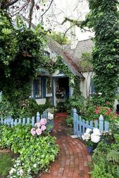 Photo of 50 Fresh Cottage Garden Ideas for Front Yard and Backyard Inspiration,  #Backyard #COTTAGE #F…