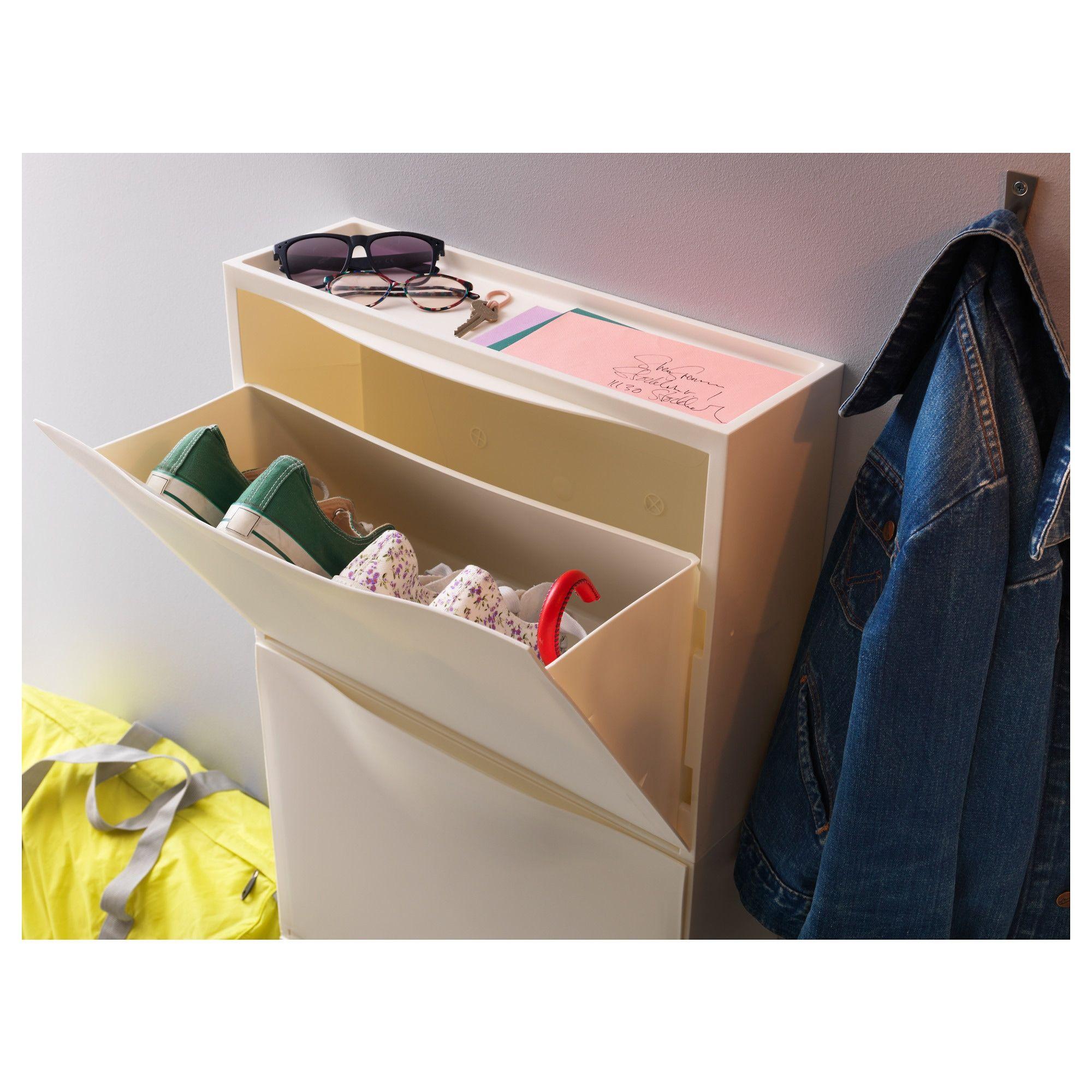 IKEA Shoe Cabinetstorage Trones Yellow