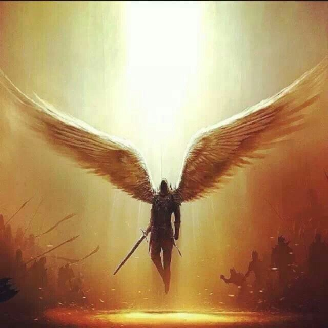 Mighty Warriors In The Bible: Mighty Warrior Angel...wow!