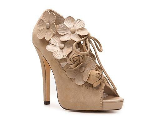 Menbur Platform Floral Sandal