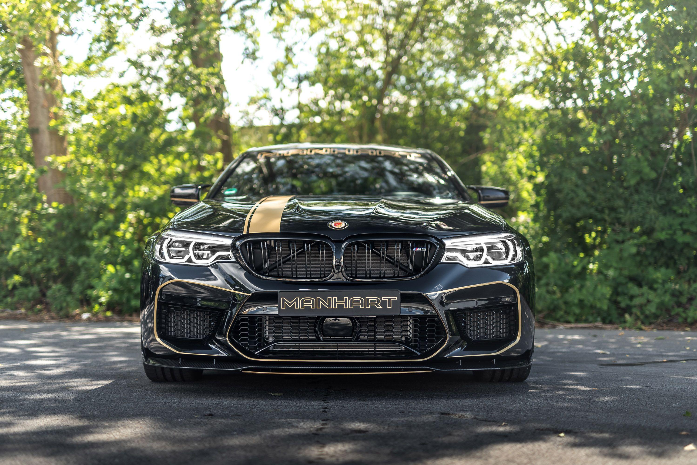 MANHART team upgrades a lucky BMW M5 F90 machine (With