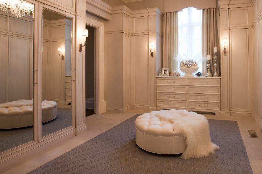 Elegant Closets 55 fabulous unisex walk-in closet designs | mirrored wardrobe