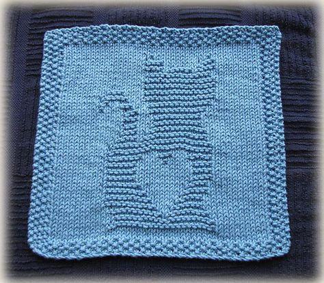 Katze mit Herz | dishcloth | Pinterest | Ravelry und Büchereien