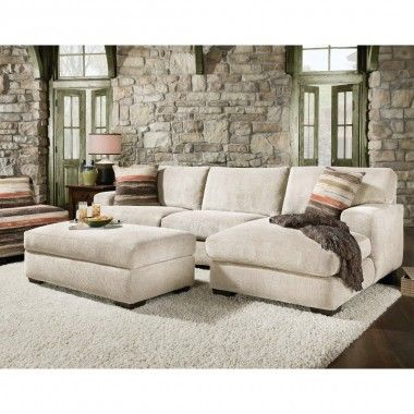 Mead Living Room Sectional Ottoman Cream 48ameadcreammid Conn S Sectional Sofa With Chaise Small Sectional Sofa Sectional Chaise
