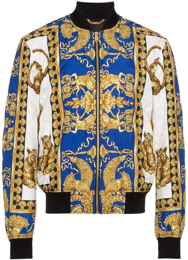 bb1dcd0ef9 Versace Barocco print bomber jacket | David's Style in 2019 ...