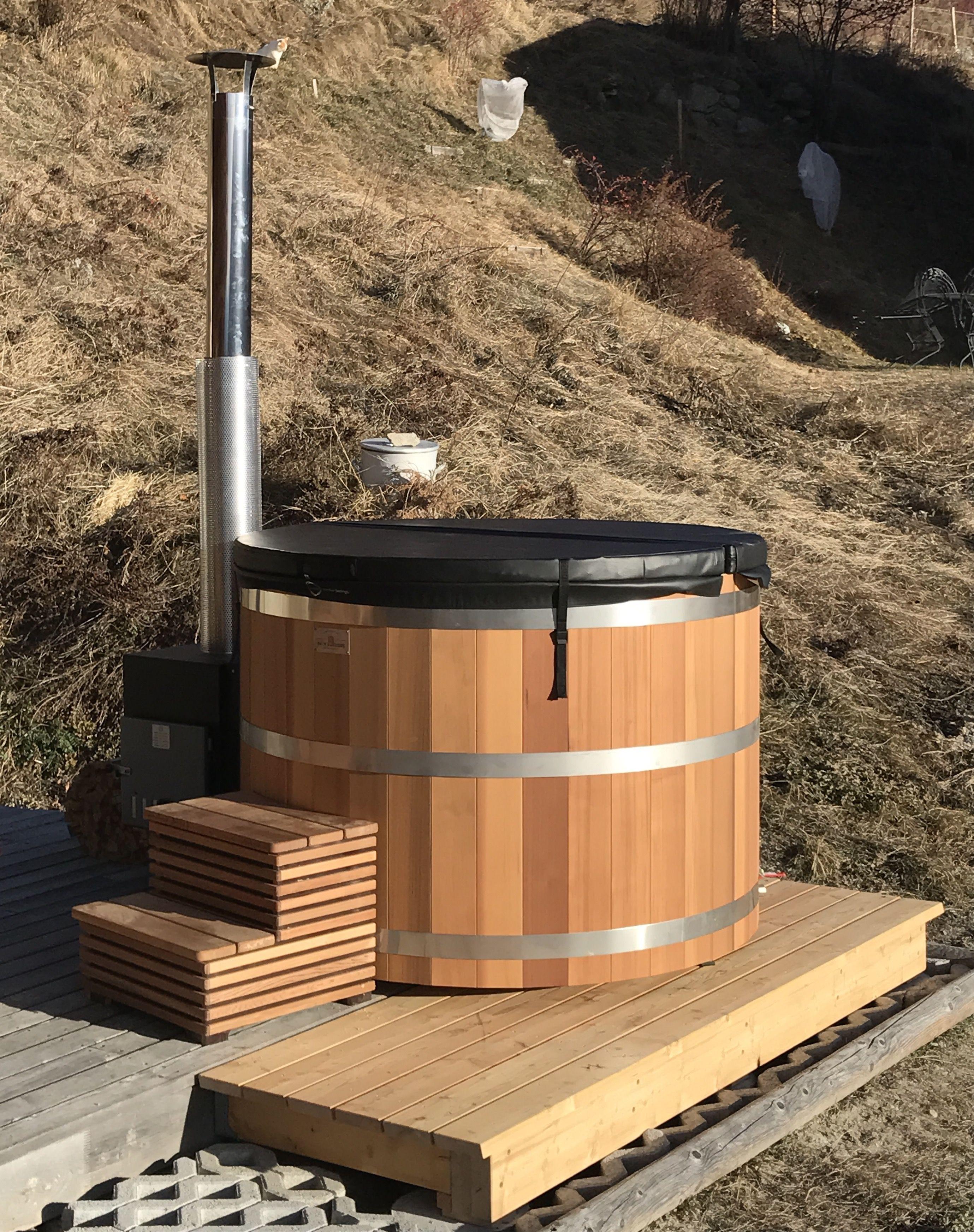 Bain nordique bain suédois hot tub | Bain nordique | Pinterest | Saunas