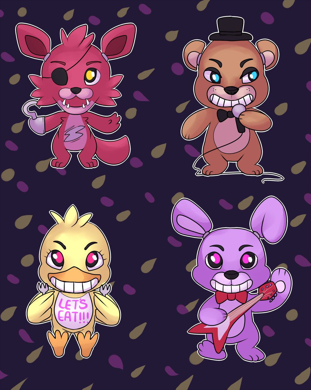 Kawaii Nights At Freddy's by PulsefireKitten.deviantart.com on @deviantART