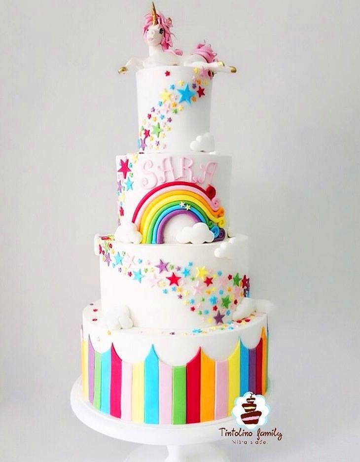 60 Simple Unicorn Cake Design Ideas In 2020 Unicorn Cake Design