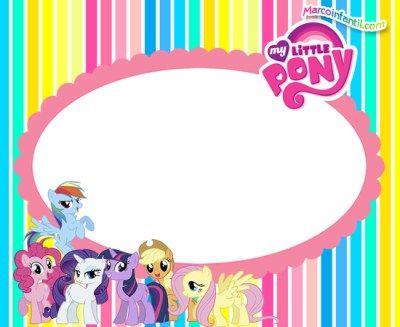 Fotos My Little Pony Tarjetas Invitaciones De Pony Fiesta