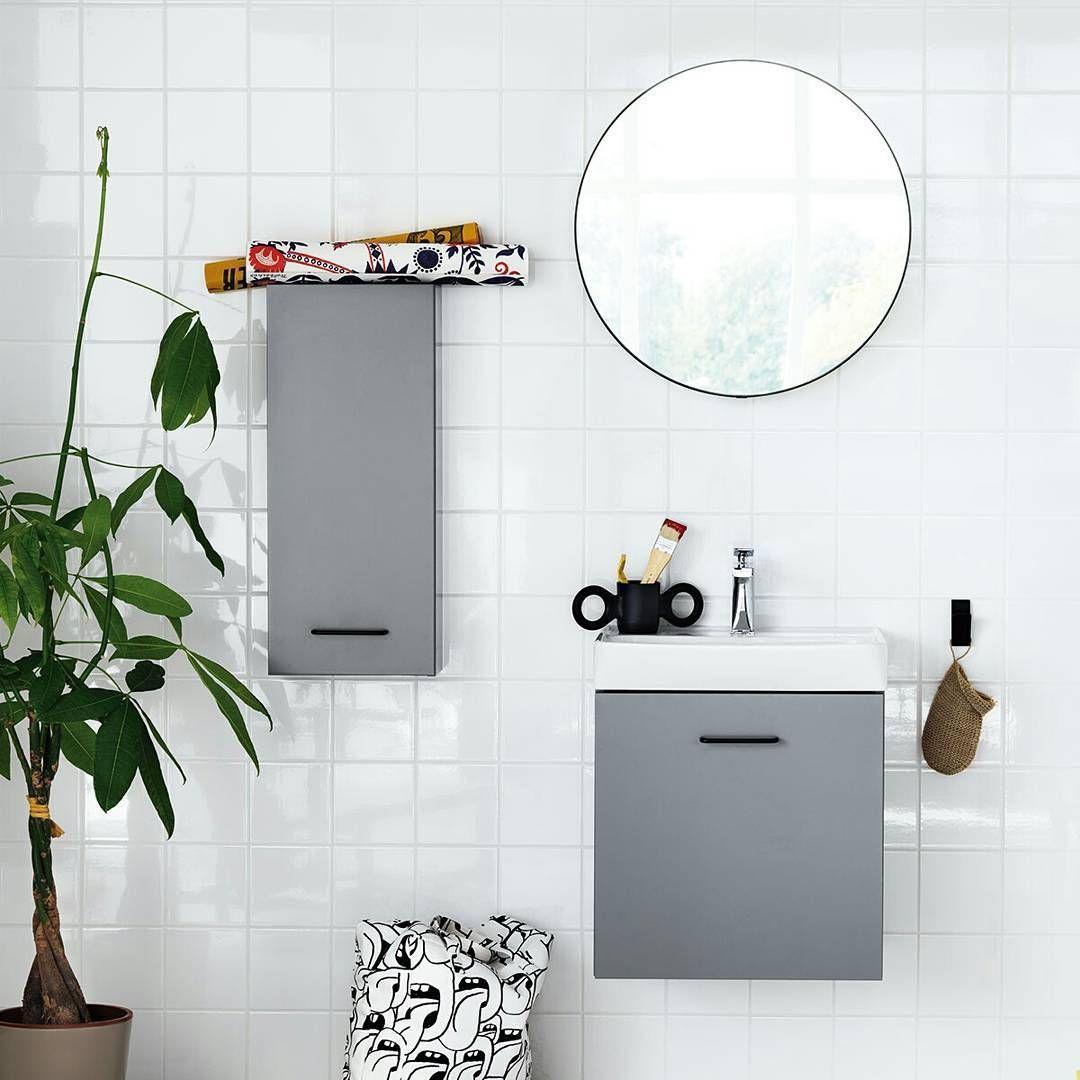 """Photo of Svedbergs på Instagram: """"Creating er en møbelserie for de litt mindre badene, uten at det går utover kvalitet og detaljer. Enkel, ren og funksjonell … """""""