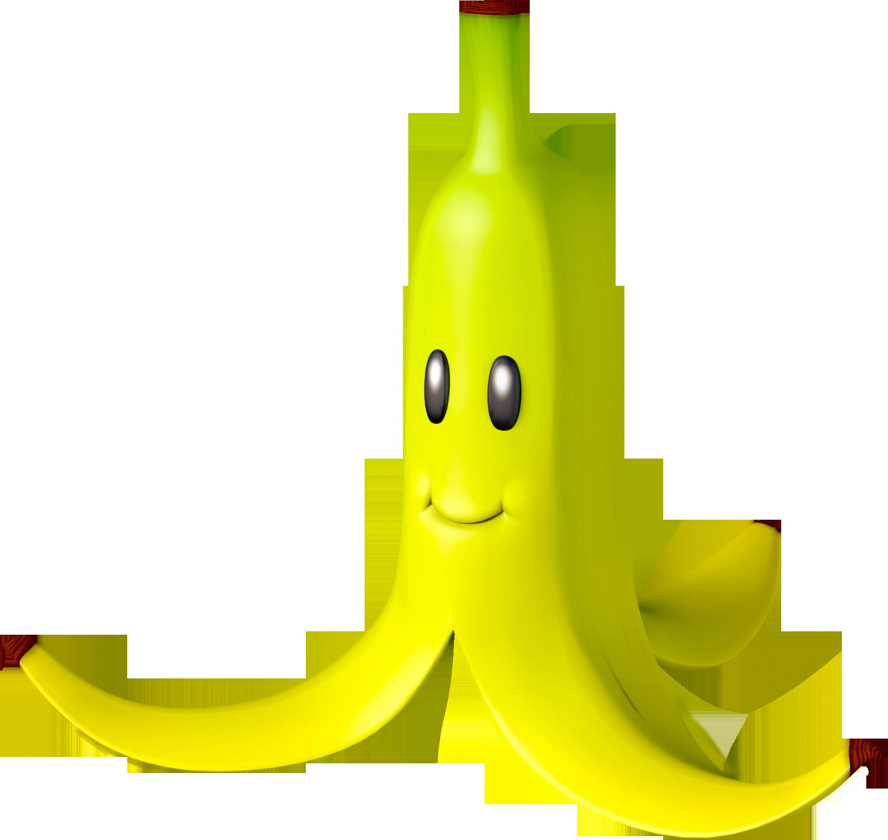 Banana Mario Kart 8 Png Super Mario Kart Mario Kart Mario Bros Party
