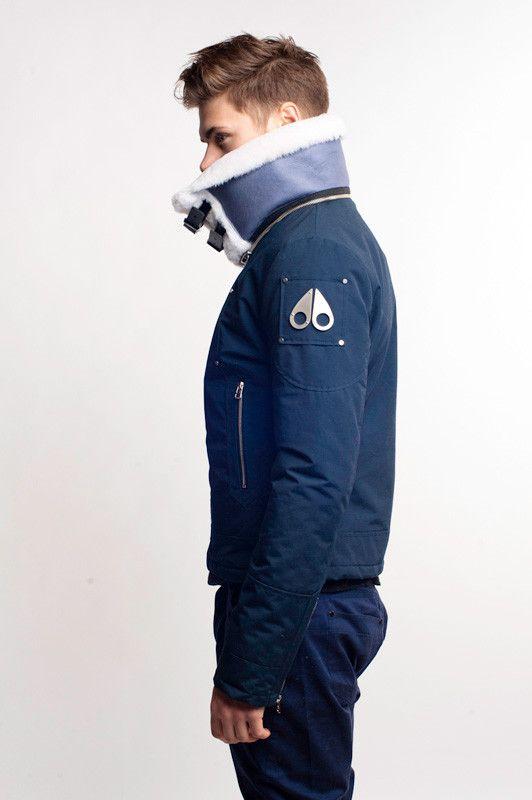 Moose Knuckles Canada — Short Aviator jacket   Men s fashion 3 ... a8ed8a4e73