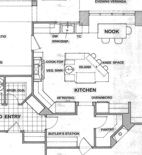 Pin By Johnann Allen On Future House Ideas Floor Plans Hidden Pantry Craftsman Kitchen