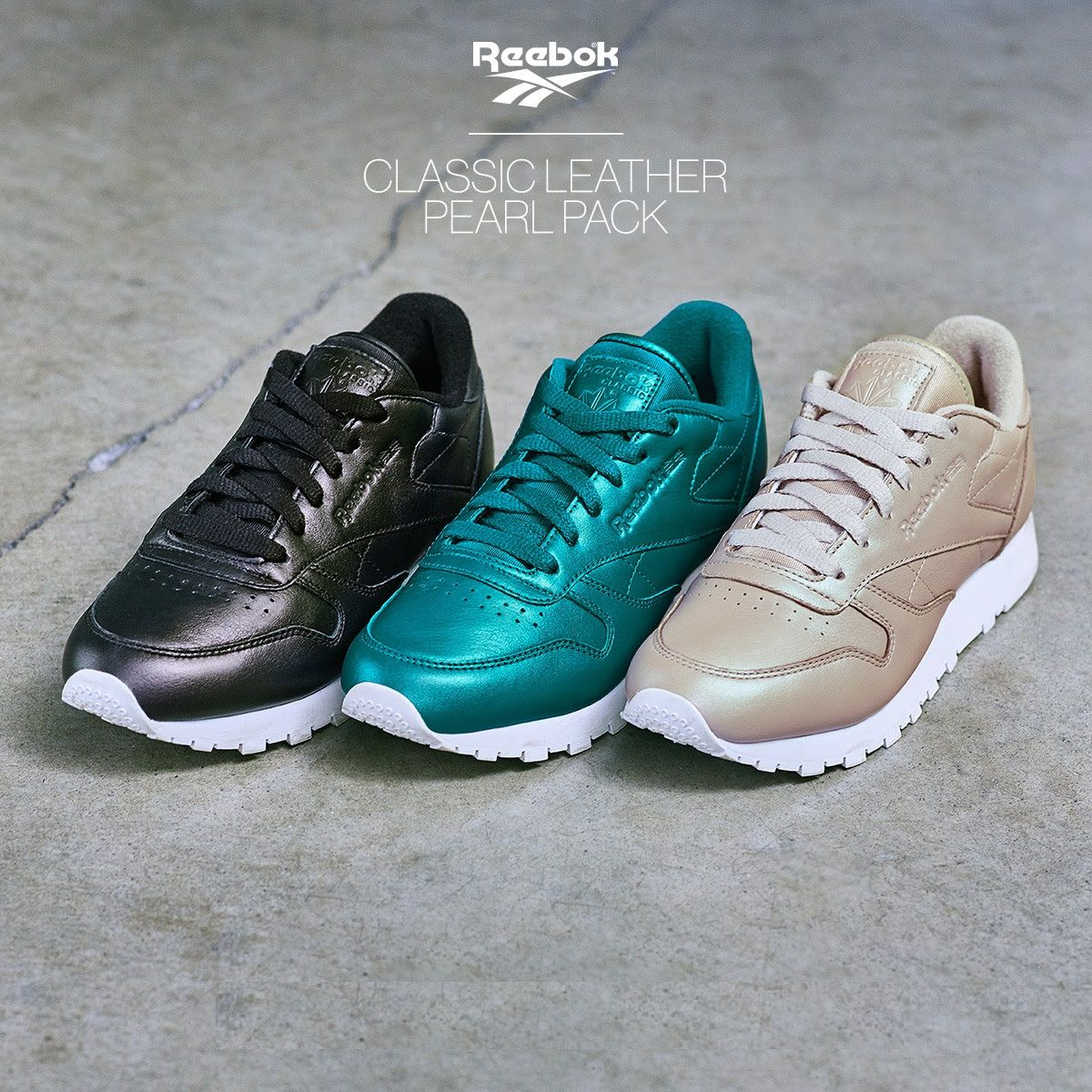 Reebok Classic Leather Club C Metallic Gold Pack Sneaker