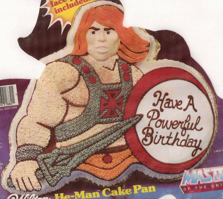 Muscle Man Birthday Cake