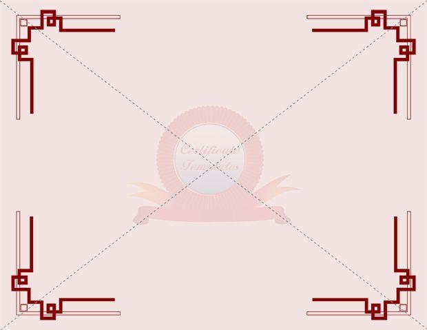 Certificate Borders Templates Certificate Template Pinterest - certificate borders templates