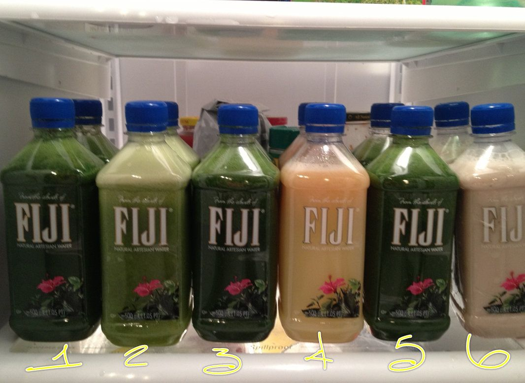 Hmmm yum. If I ever want to do my own juice cleanse...and