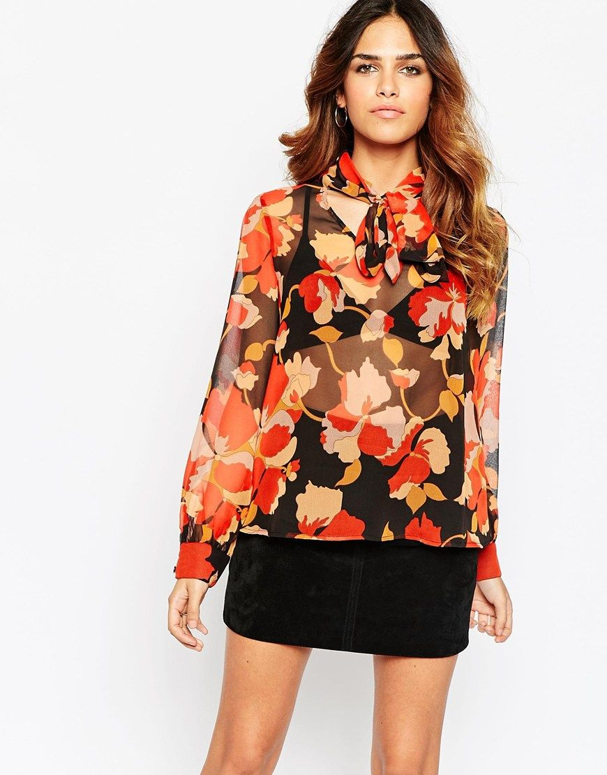 70s Style Blouses Anlis