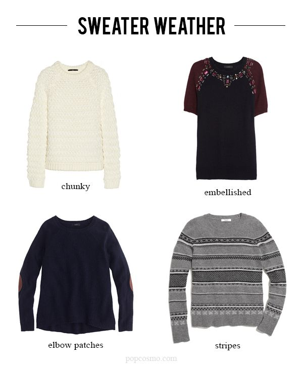 Four Fall Favorites: Sweaters | Them, All. and Elbow patches